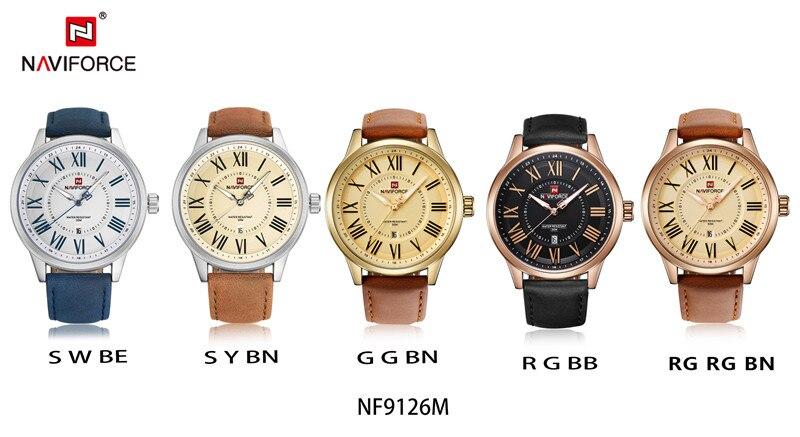ساعت مچی ناوی فورس مدل NF9126M